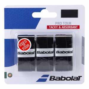 Обмотки Babolat Pro Tour 3шт Цвет Чёрный 653037-105