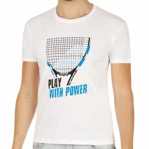 Мужская футболка Babolat Core Pure Цвет Белый 3MS17013-101