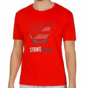 Мужская футболка Babolat Core Pure Цвет Флуоресцентно-красный 3MS17013-201