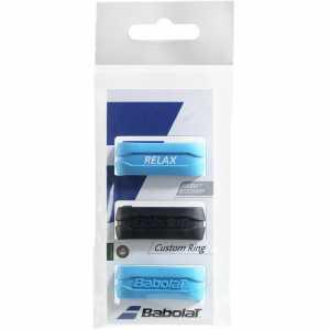 Кольцо на ручку ракетки Babolat Custom Ring 3шт Цвет Черный/синий 710025-146