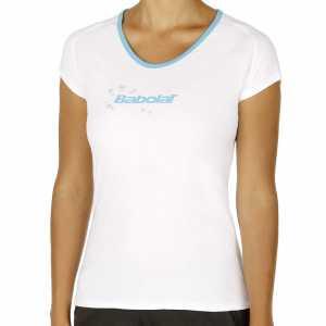 Футболка для девочек Babolat Training Basic Цвет Белый 42F1572-101