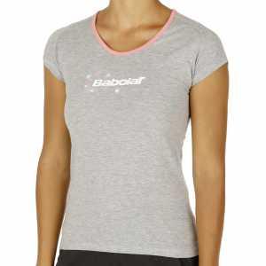 Футболка для девочек Babolat Training Basic Цвет Серый 42F1572-107
