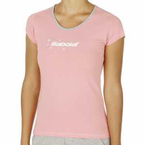 Футболка для девочек Babolat Training Basic Цвет Розовый 42F1572-156