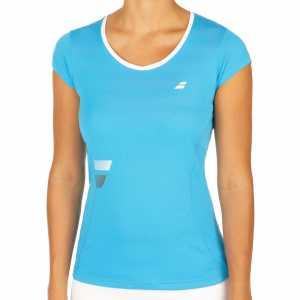 Футболка для девочки Babolat Core Flag Club Цвет Яркий голубой 3GS17011-132