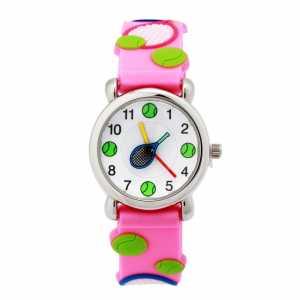 Детские наручные часы Цвет Розовый KWC-1-156