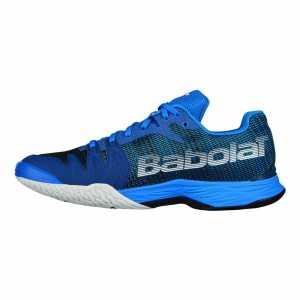 Кроссовки мужские Babolat Jet Mach II Clay Цвет Ярко синий/Черный 30S18631-4033