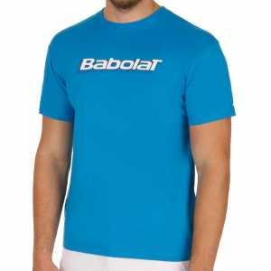 Мужская футболка Babolat Training Basic Цвет Голубой 40F1482-136