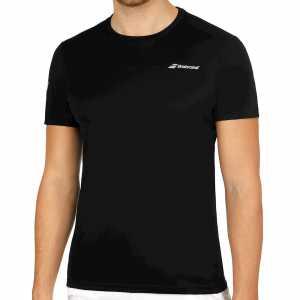 Мужская футболка Babolat Core Flag Club 2018 Цвет Черный/Черный 3MS18011-2000