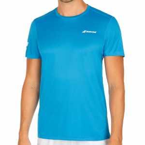 Мужская футболка Babolat Core Flag Club 2018 Цвет Ярко синий 3MS18011-4013