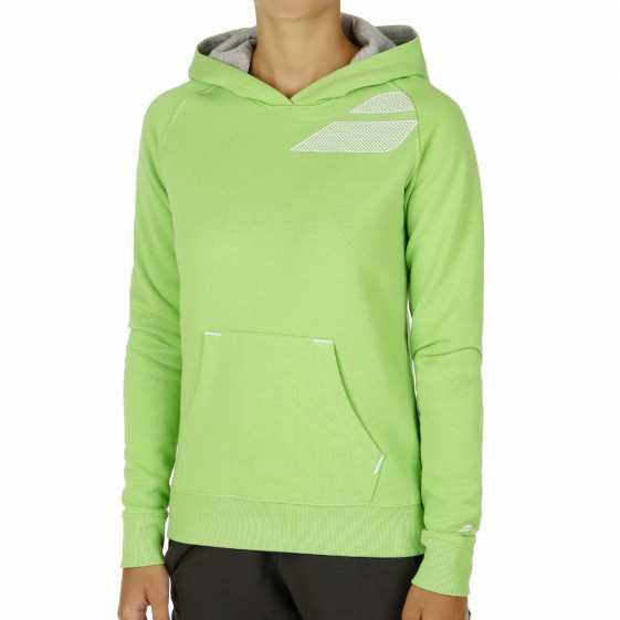 Толстовка женская Babolat Training Basic Цвет Зеленый 41F1588-125