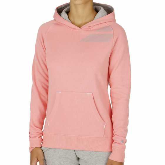 Толстовка женская Babolat Training Basic Цвет Розовый 41F1588-156