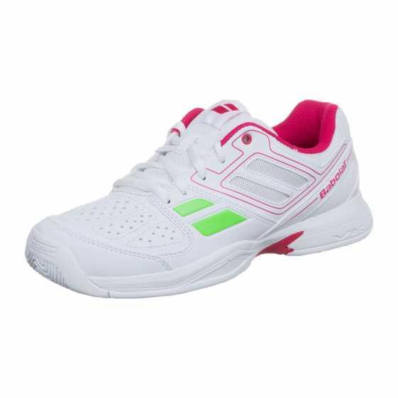 Детские кроссовки Babolat Pulsion BPM (36 - 40) Цвет Белый/Розовый 33S1578-184