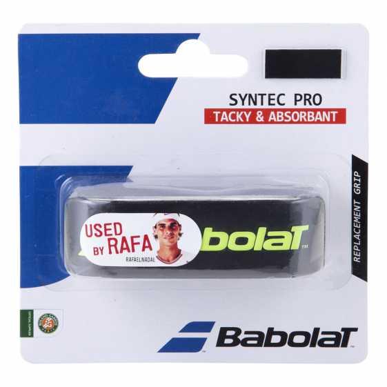 Грип Babolat Syntec Pro 1шт Цвет Черный/Желтый 670051-142