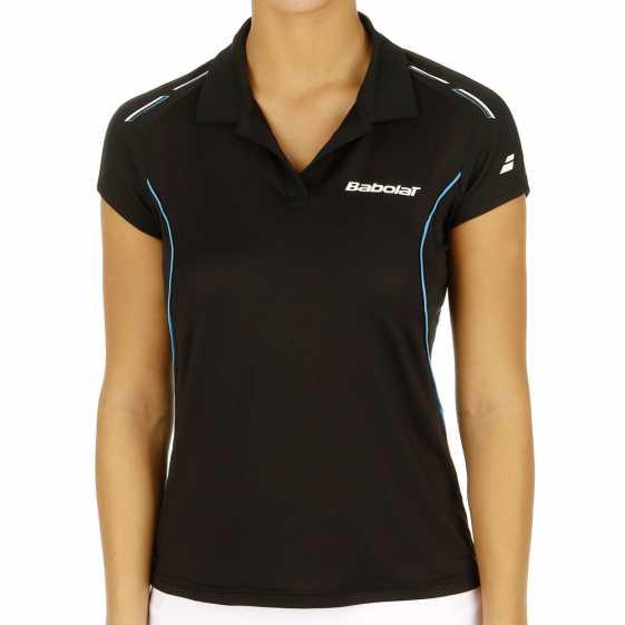 Женское поло Babolat Match Core Цвет Черный 41S1463-105