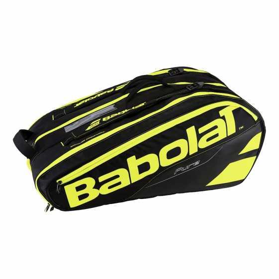 Сумка Babolat Pure X12 Цвет Черный/Флуоресцентно-желтый 751133-232