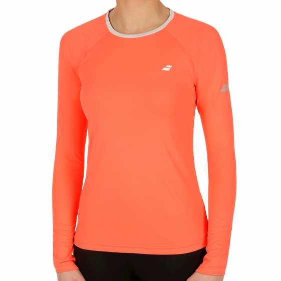Женская футболка Babolat Core LS 2017 3WS17111
