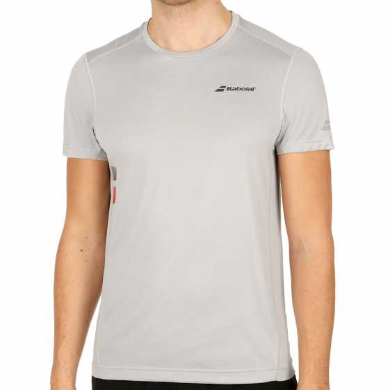 Мужская футболка Babolat Core Flag Club Цвет Серый 3MS17011-249