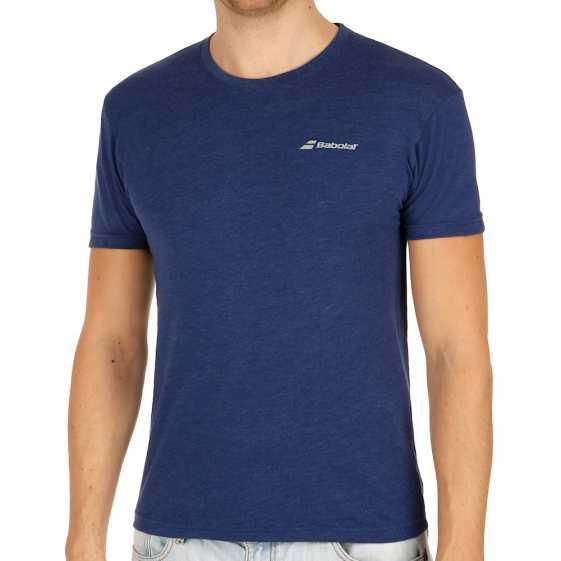 Мужская футболка Babolat Core 2017 Цвет Синий 3MS17014-253