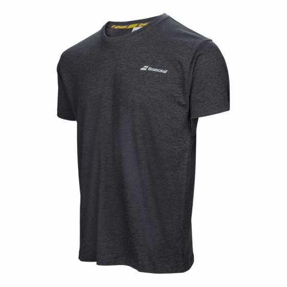 Мужская футболка Babolat Core 2017 Цвет Черный 3MS17014-105