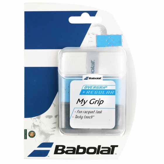 Обмотки Babolat My Grip 3шт Цвет Черный/голубой/белый 653035