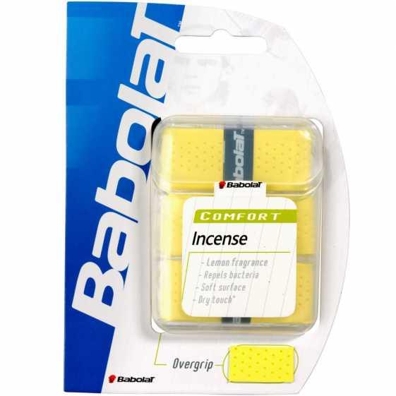 Обмотки Babolat Incense 3шт Цвет Жёлтый 653020-113