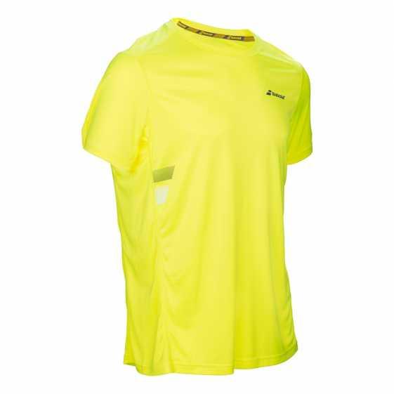 Футболка для мальчиков Babolat Core Flag Club Цвет Аэро желтый 3BS17011-243