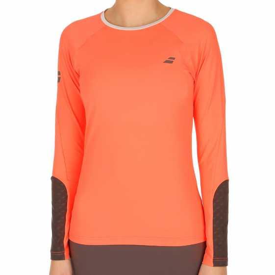 Женская футболка Babolat Core 1/2 Zip 3WS16171