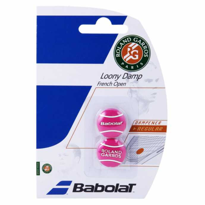 Виброгаситель Babolat Loony French Open 2шт Цвет Розовый 700036-156