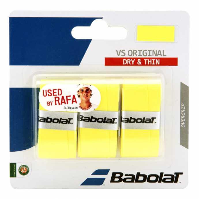 Обмотки Babolat VS Original 3шт Цвет Жёлтый 653040-113