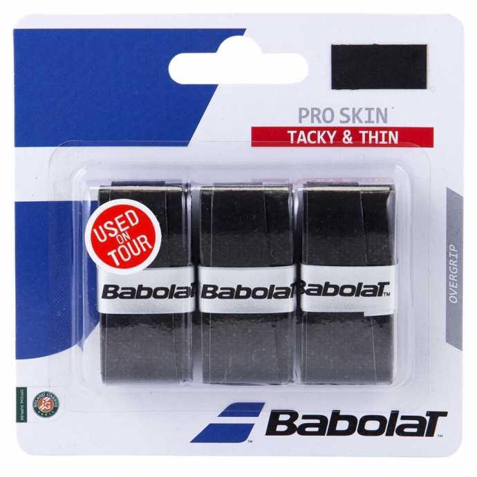 Обмотки Babolat Pro Skin 3шт Цвет Чёрный 653036-105