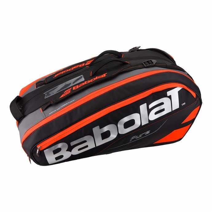 Сумка Babolat Pure X12 Цвет Черный/Флуоресцентно-красный 751133-189