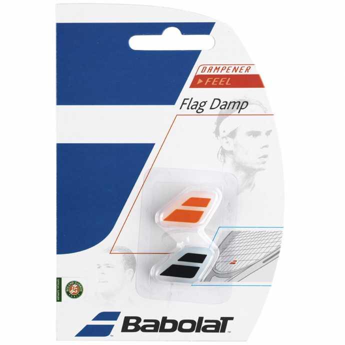Виброгаситель Babolat Flag Damp 2шт Цвет Черный/оранжевый 700032-162