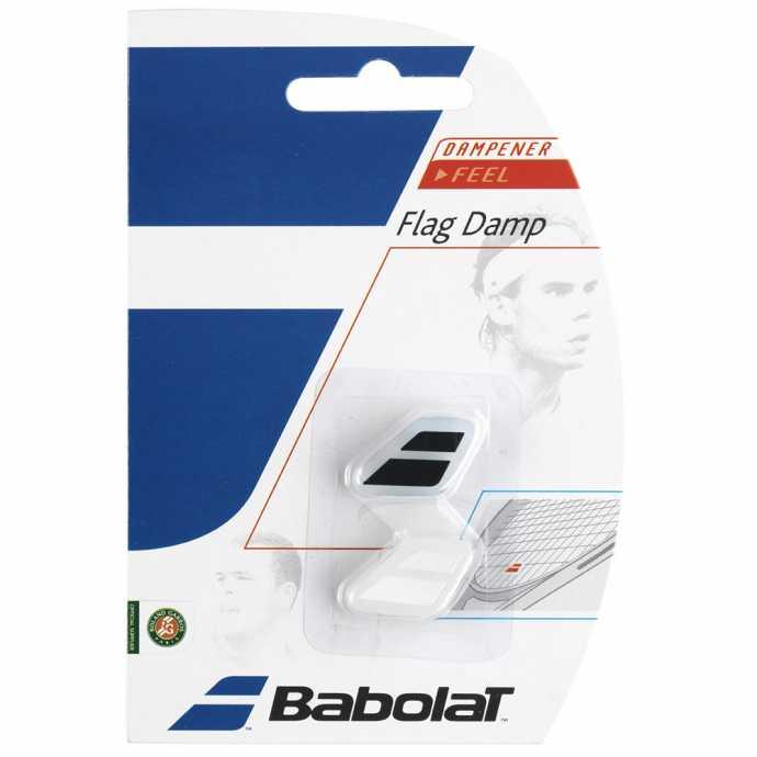 Виброгаситель Babolat Flag Damp 2шт Цвет Черный/белый 700032-145