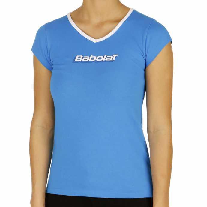 Футболка для девочек Babolat Training Basic Цвет Голубой 42F1472-106