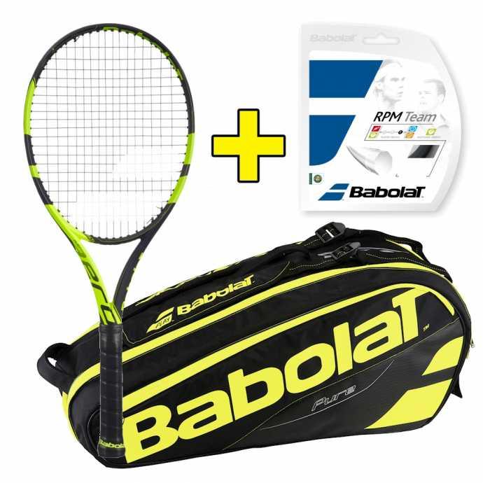 Комплект Babolat Pure Aero VS + Струны + Сумка 101274