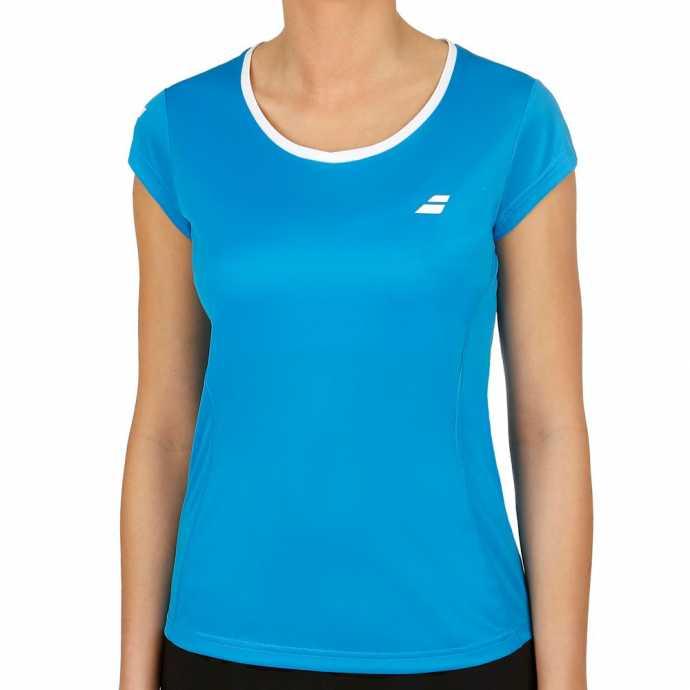 Женская футболка Babolat Core Flag Club Цвет Ярко синий 3WS18011-4013