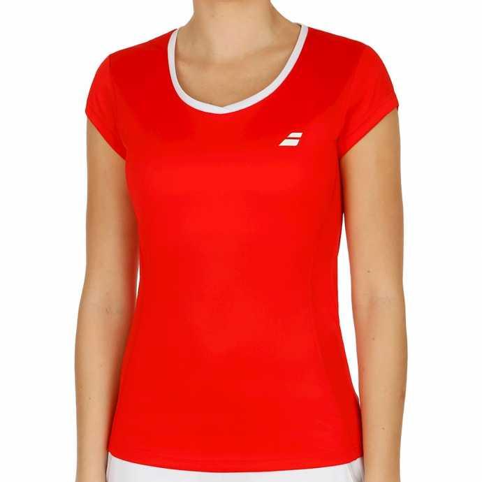 Футболка для девочки Babolat Core Flag Club Цвет Ярко красный 3GS18011-5004