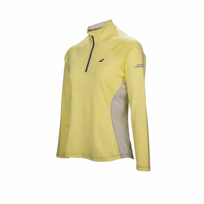 Женская футболка Babolat Core 1/2 Zip 3WS17171