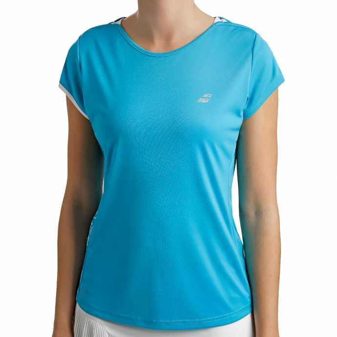 Женская футболка Babolat Perf 2019 Цвет Голубой горизонт 2WS19031-4036