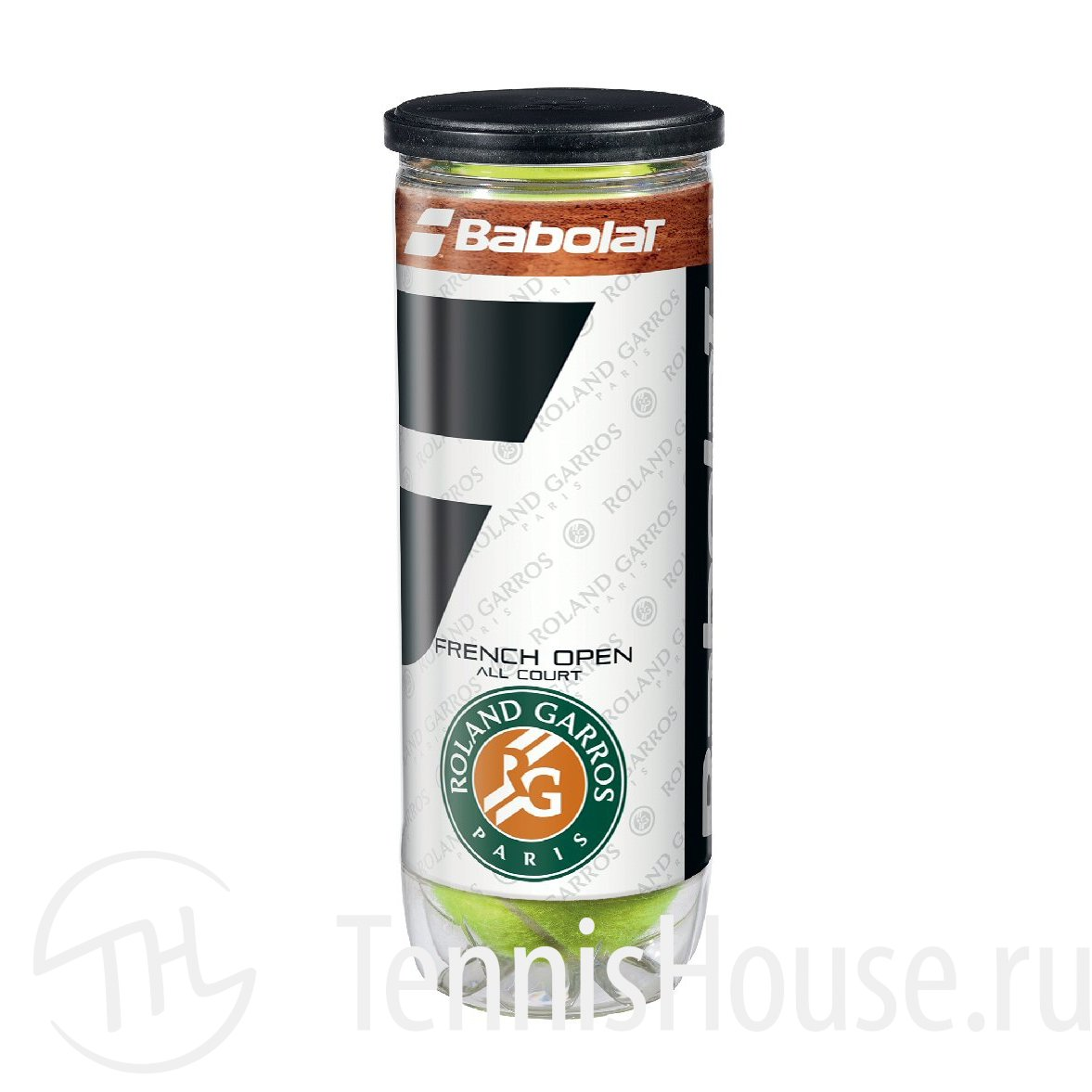 Babolat French Open All Court 3шт 501042