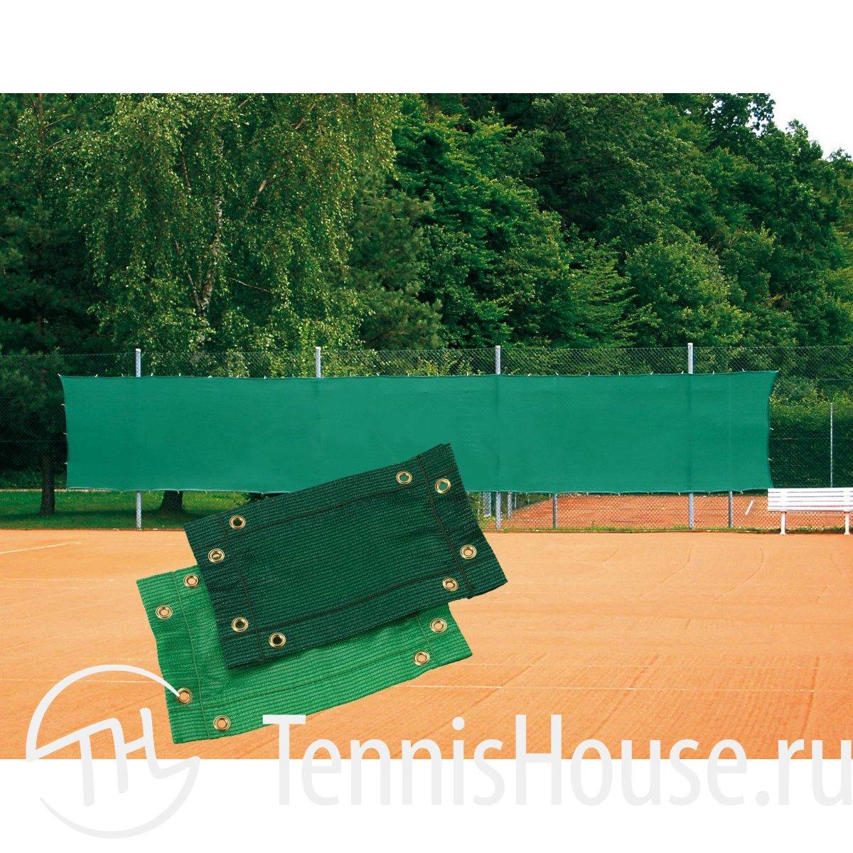 Ветрозащитный фон 2х12 метра, Италия, зеленый TE122