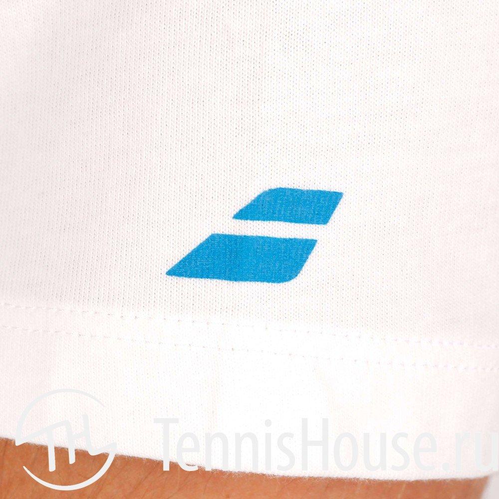 Мужская футболка Babolat Training Basic Цвет Белый 40F1482