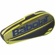 Сумка Babolat Essential Club X3 2020 Цвет Черный/Желтый 751202-142