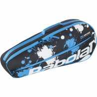 Сумка Babolat Essential Club X3 2020 Цвет Черный/Синий/Белый 751202-164