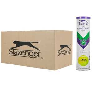 Slazenger Wimbledon Ultra Vis 4шт - коробка 72 мяча 340940