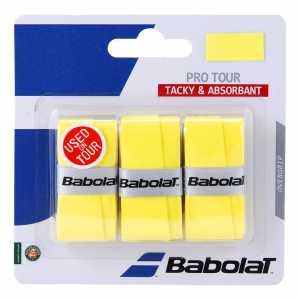 Обмотки Babolat Pro Tour 3шт Цвет Жёлтый 653037-113