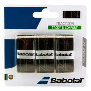 Обмотки Babolat Traction 3шт Цвет Чёрный 653043-105