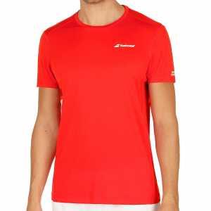 Мужская футболка Babolat Core Flag Club Цвет Флуоресцентно-красный 3MS17011-201