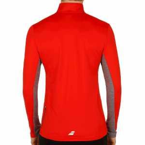 Мужская футболка Babolat Core 1/2 Zip Цвет Флуоресцентно-красный 3MS17171-201