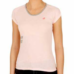 Женская футболка Babolat Core Цвет Лиловый 3WS17012-254